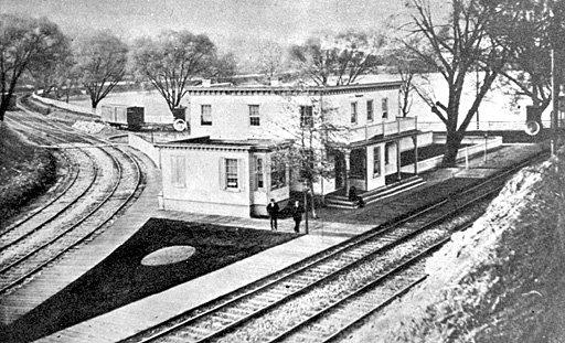 Hollins Station at Lake Roland
