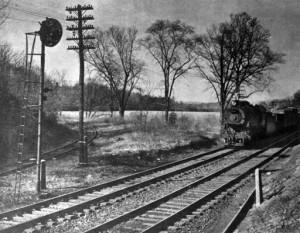 Hollins Station site, c. 1950s