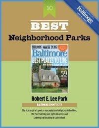 Baltimore Magazine Best Neighborhood Park Award