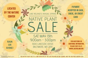 Native Plant Sale 2017 @ Lake Roland | Baltimore | Maryland | United States