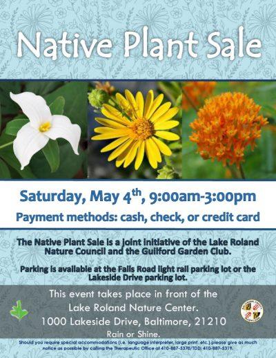 Sprint 2019 Native Plant Sale