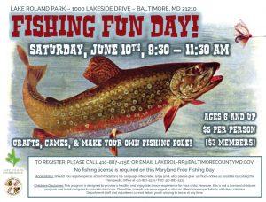 Fishing Fun Day 2017 @ Lake Roland Pier | Baltimore | Maryland | United States