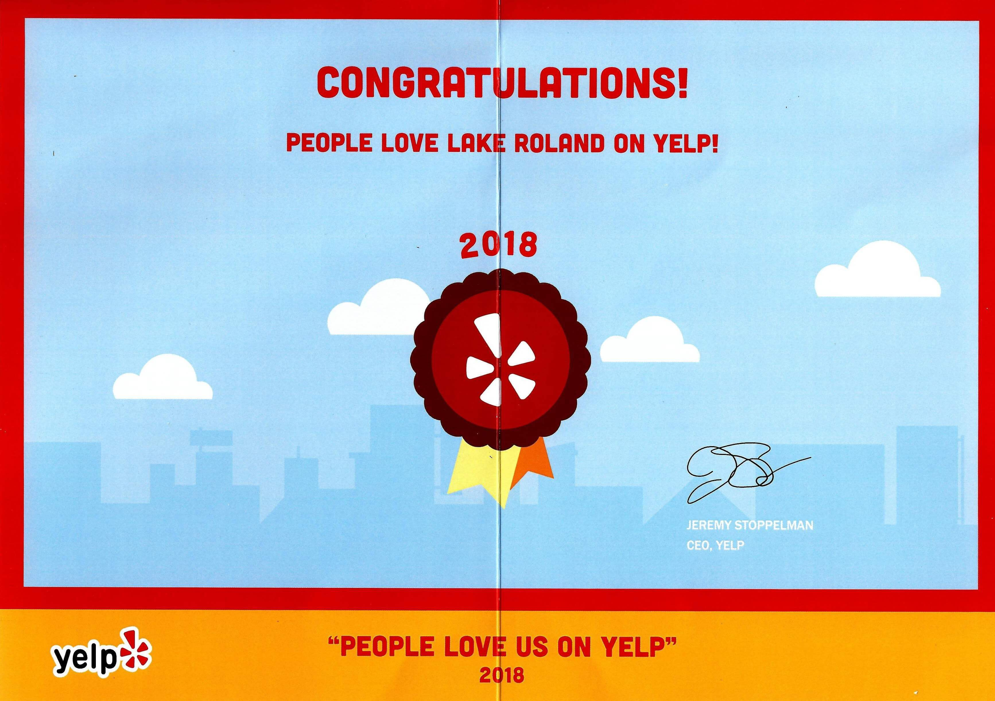 People love Lake Roland on Yelp!