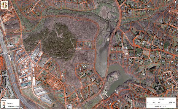 Lake Roland Baltimore County GIS map